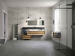 Salle De Bain Beton Cire : porcelain tiles that look like fabric design industry ~ Dailycaller-alerts.com Idées de Décoration