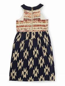 fabric mixing ikat dress lucky brand With ikat fabric dress