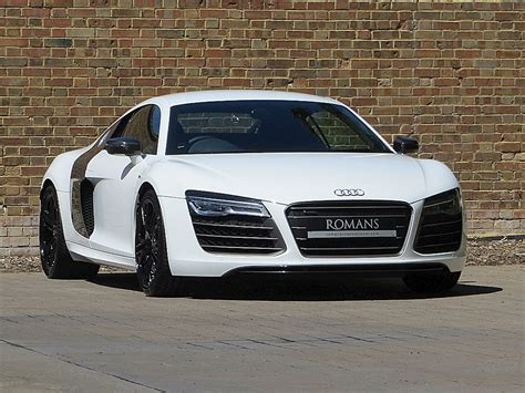 Used Audi R8 by 2013 Used Audi R8 V10 Plus Ibis White