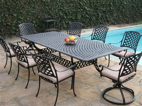 iron and wood patio furniture ideas image mag