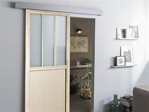 Porte coulissante, porte intérieur, verriere, escalier Menuiserie Leroy Merlin