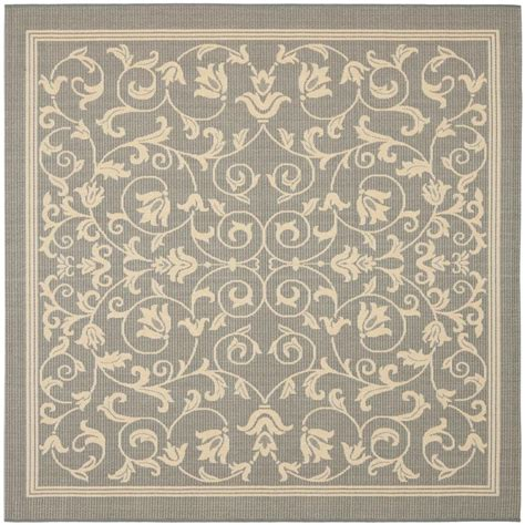 Shop Safavieh Courtyard Heirloom Gate Graynatural Square. Meridian Furniture Store. Hawaiian Furniture. Decorating Ideas For Small Bedrooms. Gray Metal Roof. How Much To Paint A Room. Dining Room Light Fixture. What Color Rug Goes With A Grey Couch. Gray Kitchen Cabinets