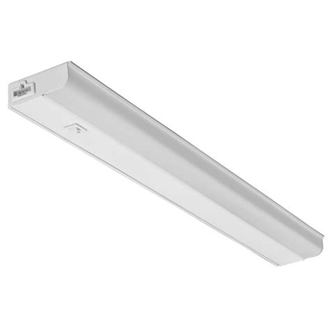 under cabinet lighting juno 18 in white led dimmable linkable under cabinet