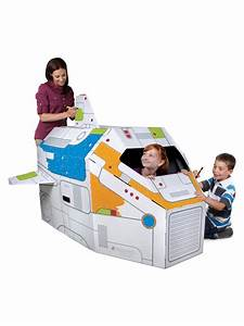 Gift Of The Day: Discovery Kids' Cardboard Rocket Ship ...