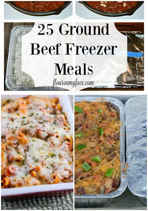 easy meals to cook with ground beef 25 ground beef freezer meals flour on my face