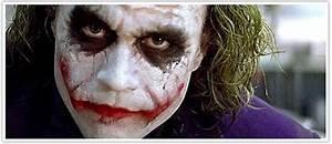 S-J London Makeup Artist: The Joker makeup in The Dark Night