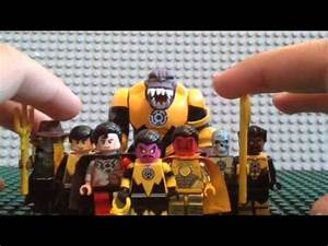 Lego yellow lantern core review - YouTube