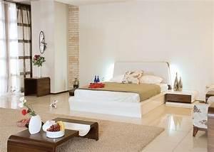 chambre zen harmonie complete dans la chambre a coucher With tapis chambre bébé avec robe blanche fleur
