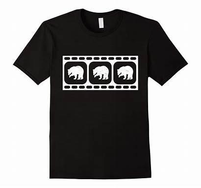 Filmstrip Triptych Bear Wild Shirt