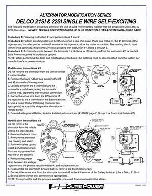 Delco Remy Alternator Wiring Diagram 24 Si 26061 Netsonda Es