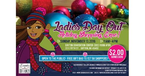 ladies day  holiday shopping expo