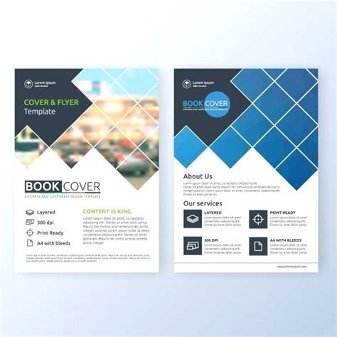 Free Publisher Brochure Templates Business Brochure Template Free Vector Flyer Publisher
