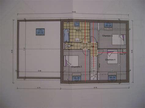 plan de maison 4 chambres avec 騁age plan d 39 une maison de 4 chambre a coucher avec veranda maison moderne