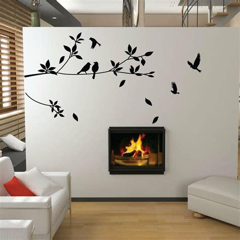 tree  bird wall stickers vinyl art decals ebay