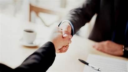 Customer Trust Power Handshake Partner Deal Agreement