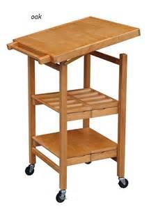 oak kitchen carts and islands small folding kitchen cart