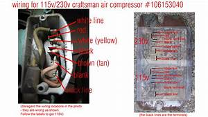 220 Volt Air Compressor Wiring Diagram