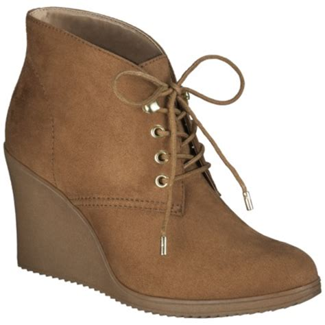 Womens Boat Shoes Target by S Merona 174 Kadence Wedge Ankle Boot C Target