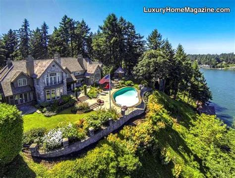 Oregon Lakes With Boat Rentals by Exclusive Lakefront Estate Lake Oswego Or Luxury