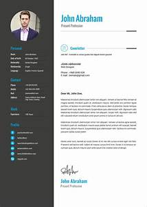 Free Professional Resume Template  U0026 Cover Design In Indd  Psd  Ai  U0026 Word Docx