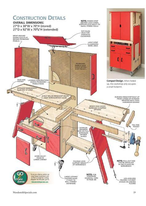 folding workshop    workshop plans