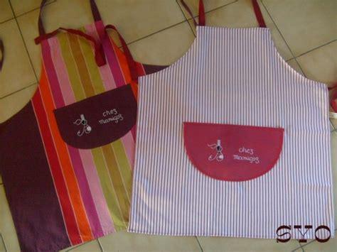 model tablier de cuisine tablier de cuisine brodé de mamigoz et patron