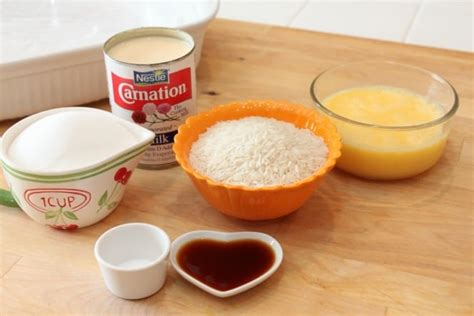how to make pudding how to make baked rice pudding created by diane