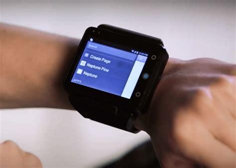 neptune pine smartwatch shows bgr