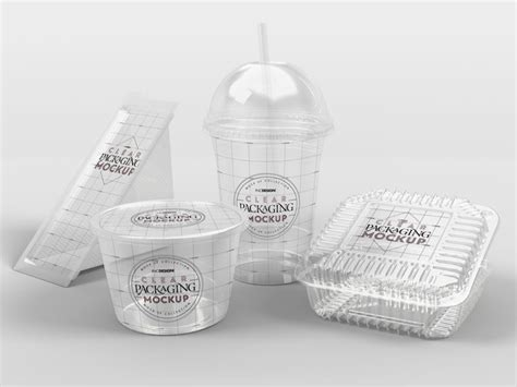 Free for individual and commercial use. Fast Food Packaging PSD Mockup   MockupsQ