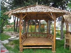 Lit De Jardin Pas Cher : vend lit de jardin gazebo bambou courb pas cher meubles cavalairesur mer ~ Nature-et-papiers.com Idées de Décoration
