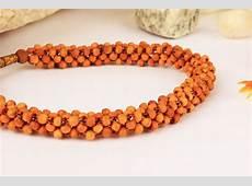 Sandalwood Bracelet Multi Beads Rudraksha Ratna