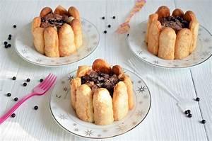Recette Charlotte Poire Chocolat : mini charlottes poire chocolat ultra faciles faire ~ Melissatoandfro.com Idées de Décoration