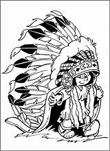 Inchworm Coloring Pages Adult Cliparts Clipart Boy Native American Indian Cartoon Cool Clip Library Crafts Indians sketch template