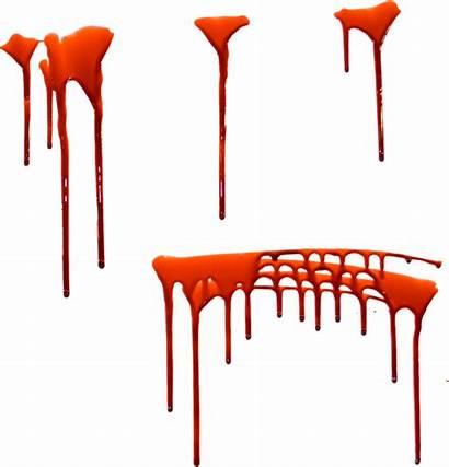 Blood Transparent Dripping Drip Clipart Orange Clip