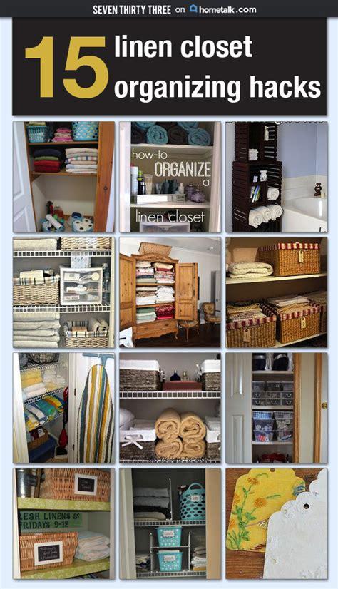 Linen Closet Organization Hacks  Inspiration Made Simple
