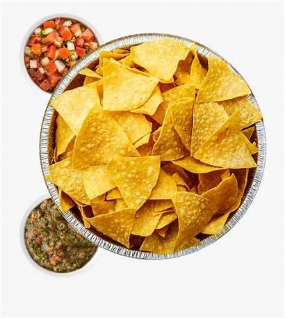 Chips Salsa Clipart Chip Cartoon Crispy Nachos