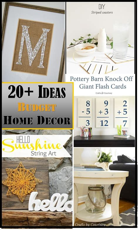 Home Decor Ideas On A Budget by Decorating On A Budget Ideas Plus The Creative Exchange