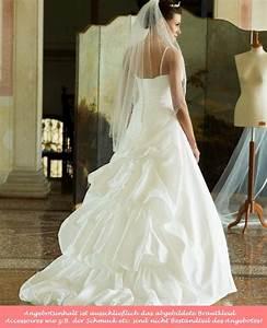 Brautkleid Mit Farbe : taft brautkleid mit schleppe tr ger schn rung farbe ivory ~ Frokenaadalensverden.com Haus und Dekorationen