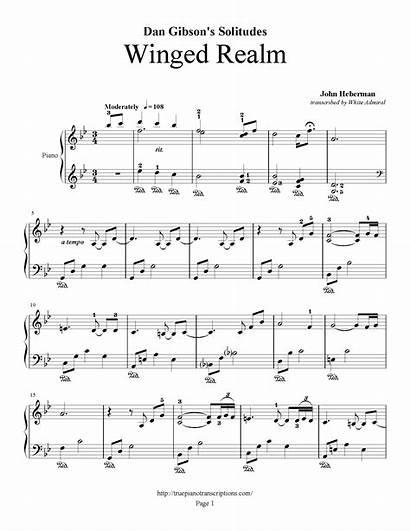 Dan Solitudes Realm Winged Gibson Mp3 Piano