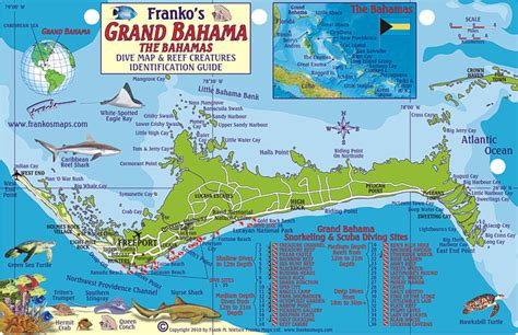 grand bahama fish card frankos fabulous maps