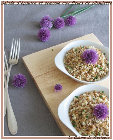salade 233 pautre semoule fleur ciboulette casimages