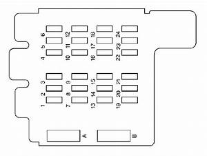 1990 Astro Van Fuse Panel Diagram