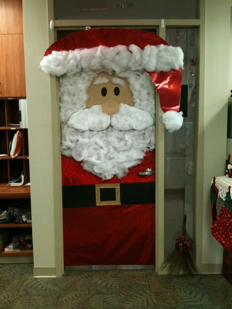 holiday door decor this was at work completed projects