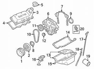 Ford Taurus Engine Valve Cover Gasket  3 0 Liter  3 0