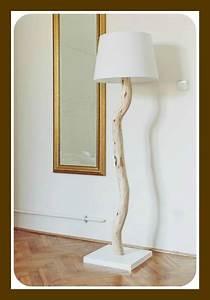 Diy, Tree, Branch, Lamp