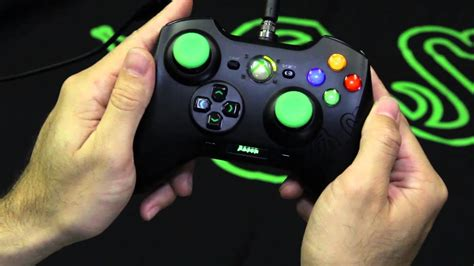 razer sabertooth runboxing xbox   pc controller