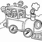 Steam Engine Coloring Surfnetkids sketch template
