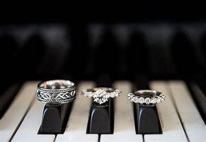 11 creative ways to photograph your wedding rings huffpost With piano wedding ring