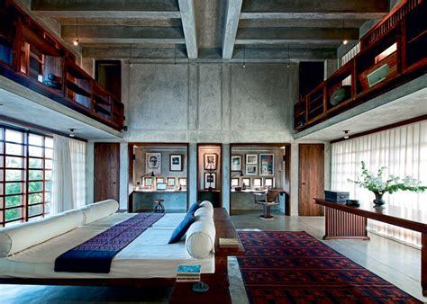 canapé sur mesure une maison indienne contemporaine maison
