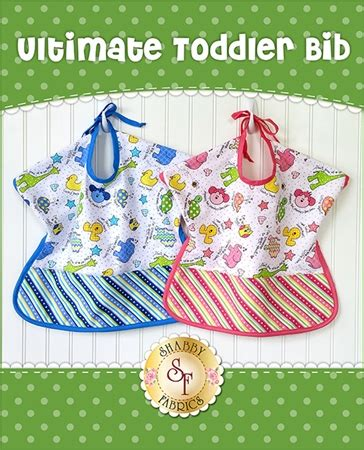 shabby fabrics toddler bib ultimate toddler bib kit video project
